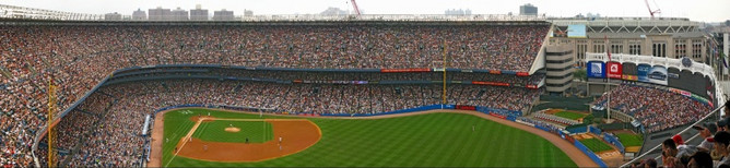 gigapan New York Yankees Stadium Panorama